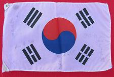 SOUTH KOREA - flag, pennant, volleyball, ORIGINAL AUTOGRAPHS!!!