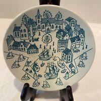 """Vintage Nymolle Art Faience """"Hoyrup"""" Plate Saucer Limited Edition 4006 - Denmark"""
