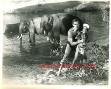 "Jock Mahoney Tarzan Goes To India Original 8x10"" Photo #M2516"
