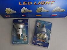 2 lampadine /faretto 48LED SMD attacco E14  luce fredda
