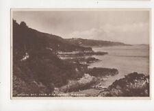 Divette Bay From Pine Forest Guernsey Vintage RP Postcard 298b