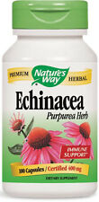 Echinacea Purpurea Herb - 100 Capsules - Nature's Way