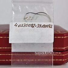 Cartier TANK VERMEIL GM/LM-Nuova guarnizione pavimento, rotondo, ORIGINALE. circa 19,1mm