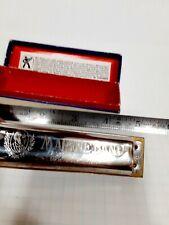 New listing Hohner marine band harmonica F with box