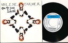 """MYLENE FARMER 45 TOURS 7"""" FRANCE QUE MON COEUR LACHE+"""