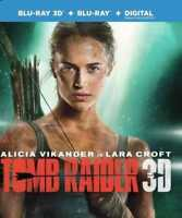 Tomb Raider 3D (Blu-ray 3D + Blu-ray + Digital)
