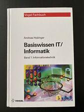 Basiswissen IT / Informatik 1: Informationstechnik: Das ... | Buch | Zustand gut
