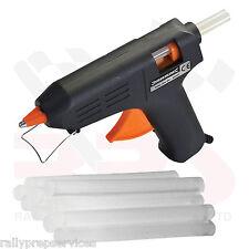 Electric Hot Melt Glue Gun 230V 15(40)W UK Hobby Craft & 12 Glue Sticks