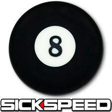 BLACK 8 BALL SHIFT KNOB FOR MANUAL SHORT THROW GEAR SHIFTER SELECTOR UN2 KIT K43