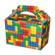 20 Lego Brick Party Boxes - Food Loot Lunch Cardboard Gift Childrens Kids