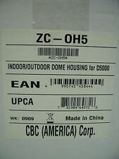 CBC - INDOOR / OUTDOOR SURVEILLANCE CAMERA DOME HOUSING FOR D5000 ~ ZC-OH5 *NEW*
