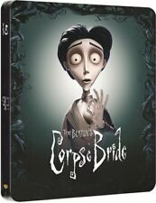 The Corpse Bride Limited Edition Blu-Ray Entertainment Exclusive Steelbook New+