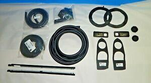 New Body Rubber Repaint Kit Set for MG Midget 1975-1979 + Rubber Door Seals