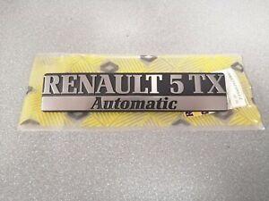 RENAULT 5 REAR DOOR EMBLEME 7700703945