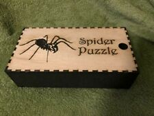Spider Puzzle Laser Cut from Wood,Halloween Decorations,  Assembly Required