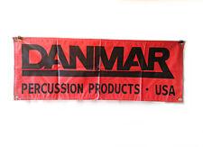 Drum Accessories - Danmar Accessories Banner  - 4' x 1.5' - Memorabilia - Drums