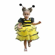 Girls Ladybird Bumble Bee Costume Child Toddler Fancy Dress Outfit Travis Design