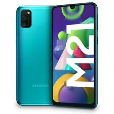 SAMSUNG GALAXY M21 GREEN 64GB ROM 4GB RAM 4G/LTE DUAL SIM ANDROID DISPLAY 6.4""