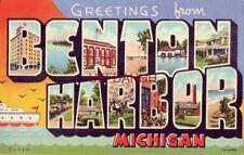 Greetings From Benton Harbor, Michigan 1949