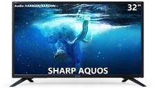 "Televisore SMART TV SHARP AQUOS 32"" LED HD Decoder DVB-T2 HDMI NERO 32BC2E"