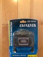 Aiwa AM/FM  HS-TA154 Stereo Cassette New