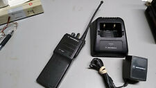 Motorola HT 1000 UHF Wide Band portable radio with charger no battery