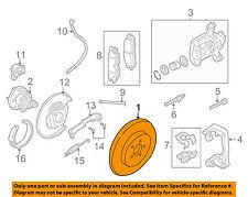 GM OEM Rear Brake-Rotor 19303830