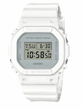 Casio G-Shock Men's All White Wristwatch with Gray Dial - DW5600CU-7