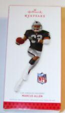 """NEW Hallmark  2013 Ornament """"L.A. Raiders Marcus Allen""""  Orig. 17.99"""