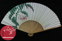 Ventaglio Sensu Giapponese Fan Faltfacher Hand Made in Japan Originale