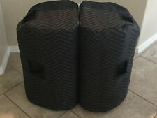 PEAVEY Dark Matter DM112 Padded Premium Speaker Covers (2)  Qty of 1 = 1 Pair!