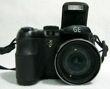 GE Power Pro Series X500 16.0MP 15X Zoom Digital Camera Black EXCELLENT - TESTED