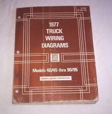 gm truck wiring diagrams ebay