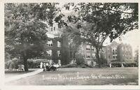 MT. PLEASANT MI – Central Michigan College Real Photo Postcard rppc