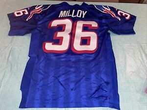 Authentic Adidas Pro Line Adult 50 Lawyer Milloy New England Patriots Jersey
