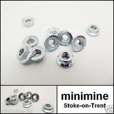 Classic Mini Cooper Sportspack Wheel Arch Nut Kit x25 M5 Hexagon Serrated Flange