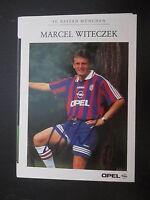 8217 Marcel Witeczek FC Bayern München original signierte Autogrammkarte