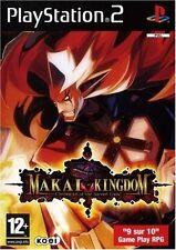 MAKAI KINGDOM playstation 2  PS2 NUOVO !!!