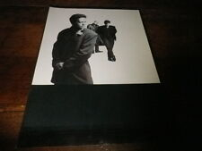 SIMPLE MINDS - Mini poster Noir & blanc !!!
