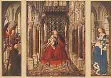Eyck Jan Van Small Triptych A4 Print
