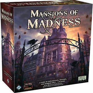 Fantasy Flight Games - Mansions of Madness Second Edition - Board Game