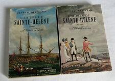 NAPOLEON, CAHIERS DE SAINTE HELENE, 2 tomes,GENERAL BERTRAND,1816,1817,1818,1819