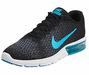Nike Air Max Sequent 2 Black Sneakers for Men for Sale ...