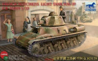 Bronco 1/35 35019 French H38/39 Hotchkiss Light Tank Hot