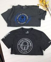 Reebok Spartan Race Finisher T Shirt Set Of Two Gray Blue Mens M