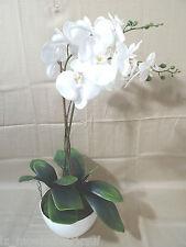 Kunstpflanze Orchidee hochwertig im Keramikübertopf ca. 50 cm  183035