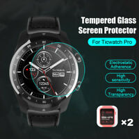 2 Pack Tempered Glass Screen Protector 9H Hardness For Ticwatch pro Smart Watch