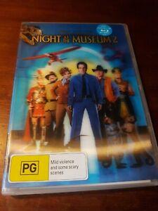Night at The Museum 2 (DVD) Owen Wilson, Levy, Amy Adams, Garrett, Ben Stiller