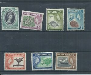 Pitcairn Island stamps.  A few of the 1957 series MH plus 1953 Coronation (P730)