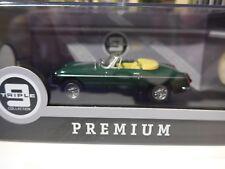 1/43 Triple 9 Premium 1964 MG B Convertible Green Ltd Edition T9p100002